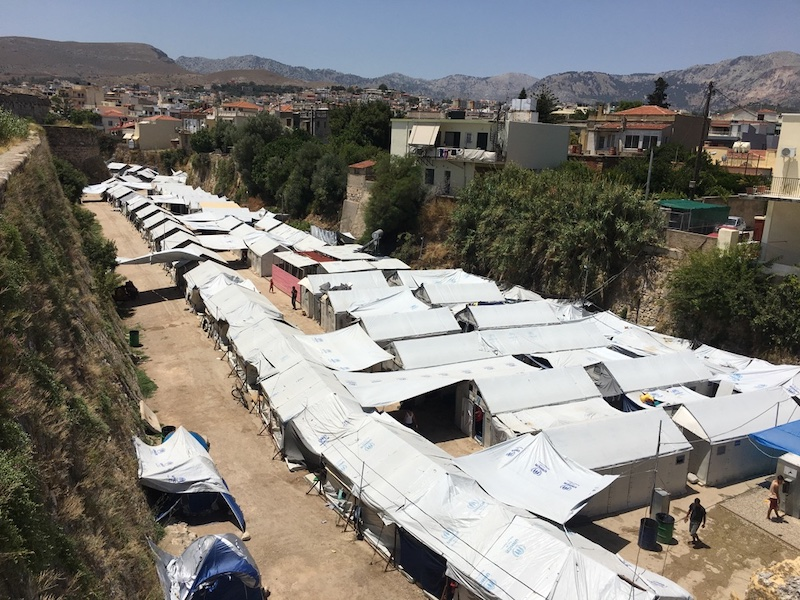 Refugee crisis response in Greece