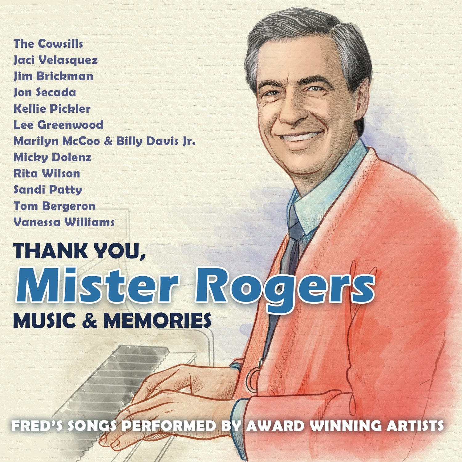 The Mayor Of Nashville And Various Artists Proclaim November As Thank You Mister Rogers Month Today Marks The Release Of The New Tribute Album Thank You Mister Rogers Music Memories Bob