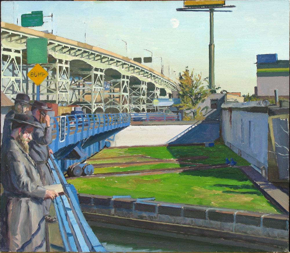 "ROSH HASHANAH oil on panel 14 x 16"" 2008"