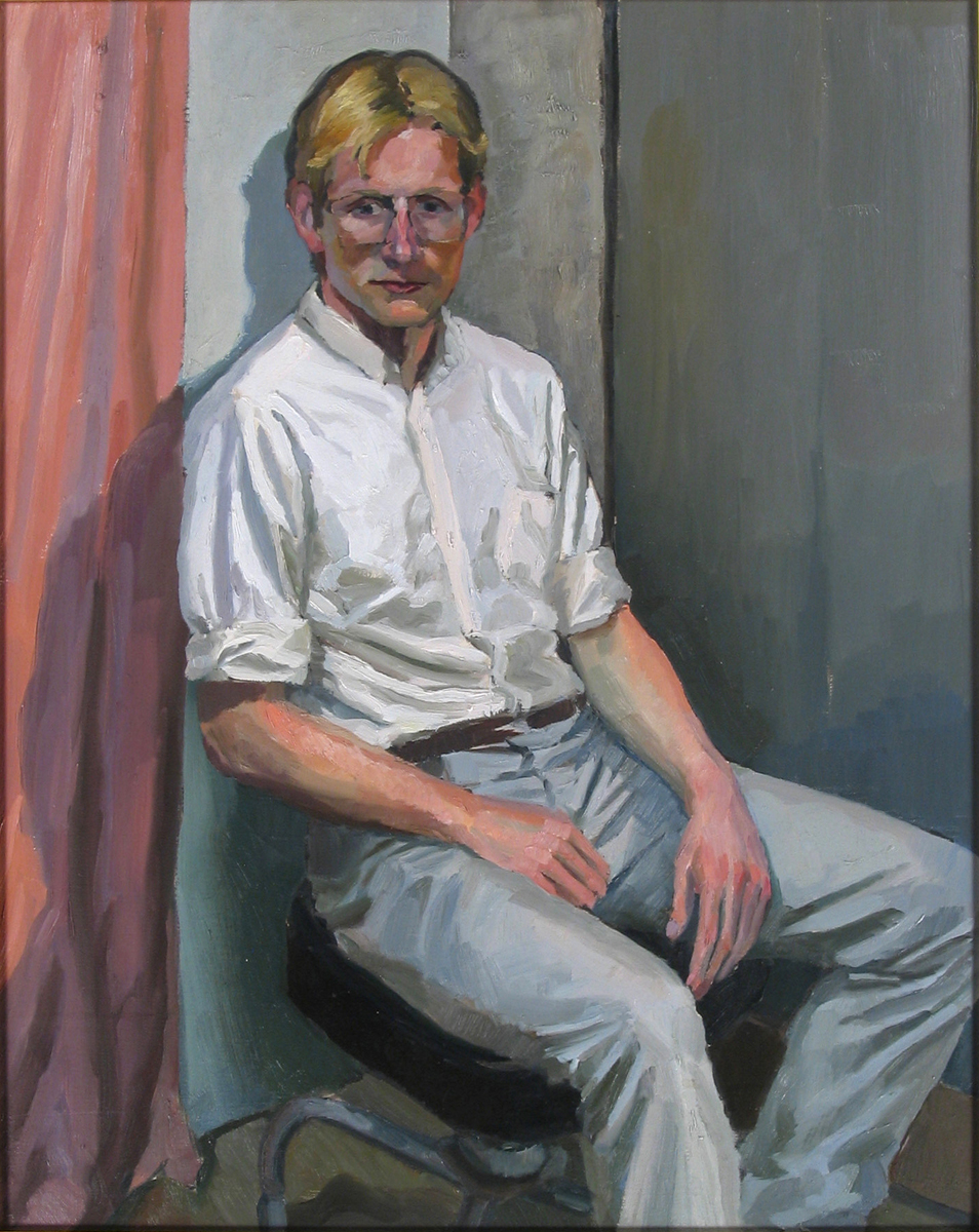 "SCOTT NOEL oil on canvas 30 x 22"" 1989"