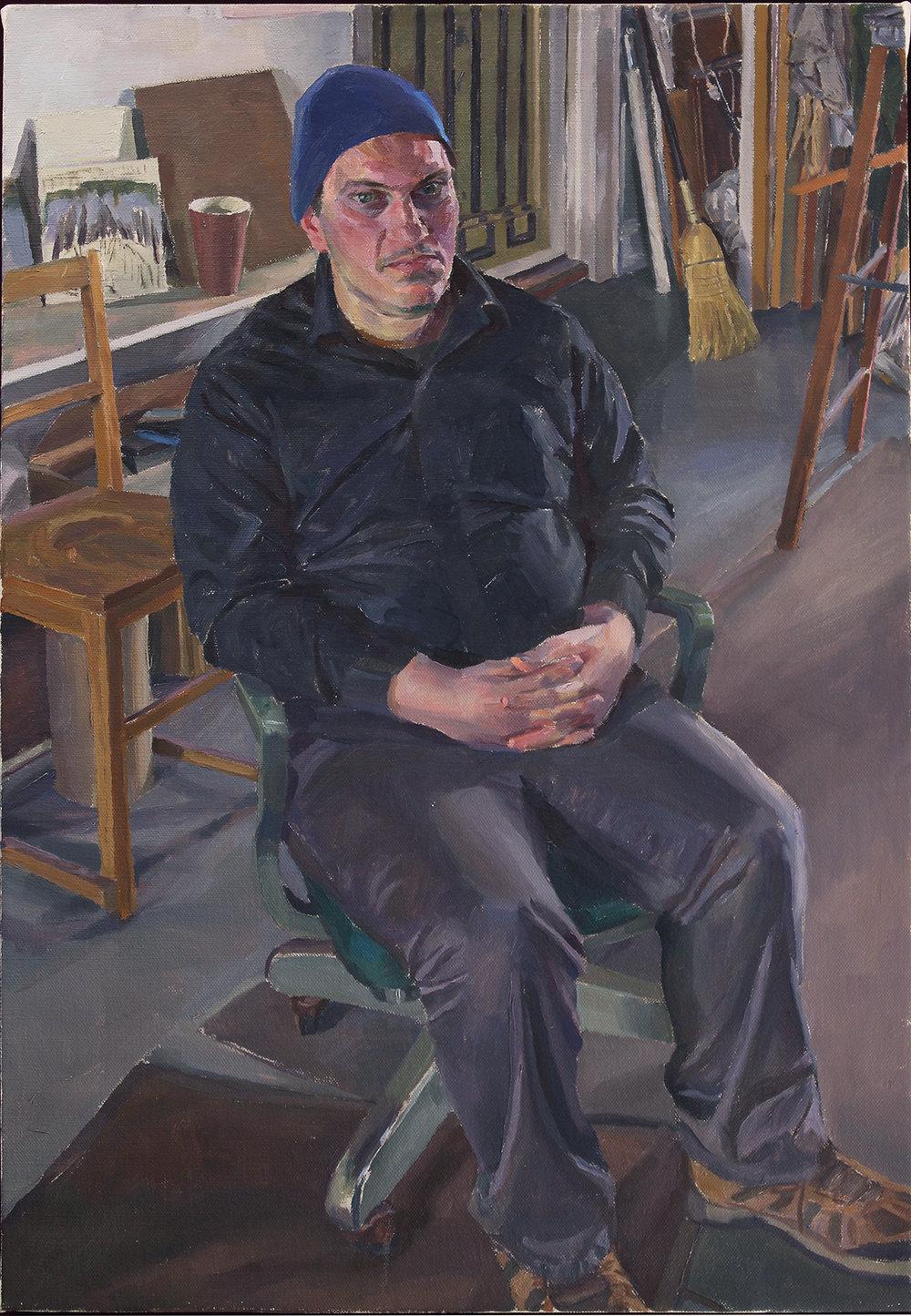 """JOE BRADLEY oil on linen 22 x 33"""" 2015"""