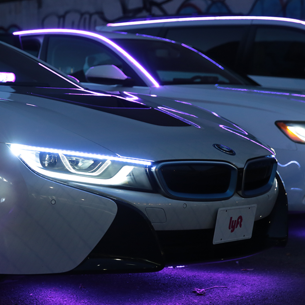 LYFTAUTO TUNES - Lyft cars play Grammy-nominated songs with the sounds of their alarms and horns.