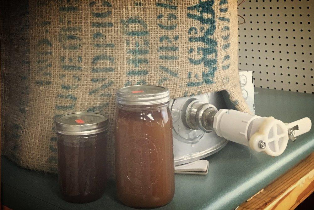 Local raw honey -