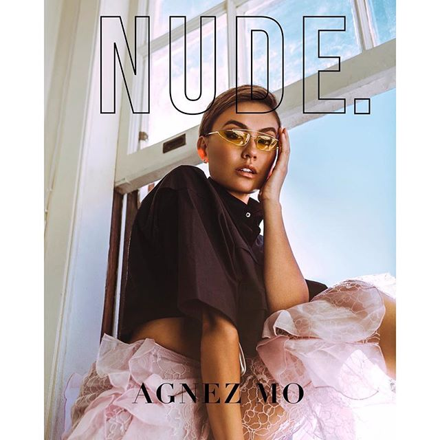 Nude!  Front cover featuring #alicemccall