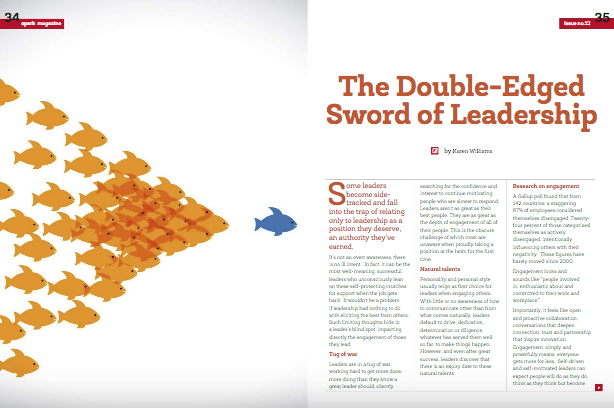 The Double-Edged Sword of Leadership -