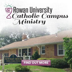 Catholic Campus Ministry at Rowan University - Newman House1 Redmond Avenue(Just off Whitney Avenue)Glassboro, NJ 08028www.rowanccm.com