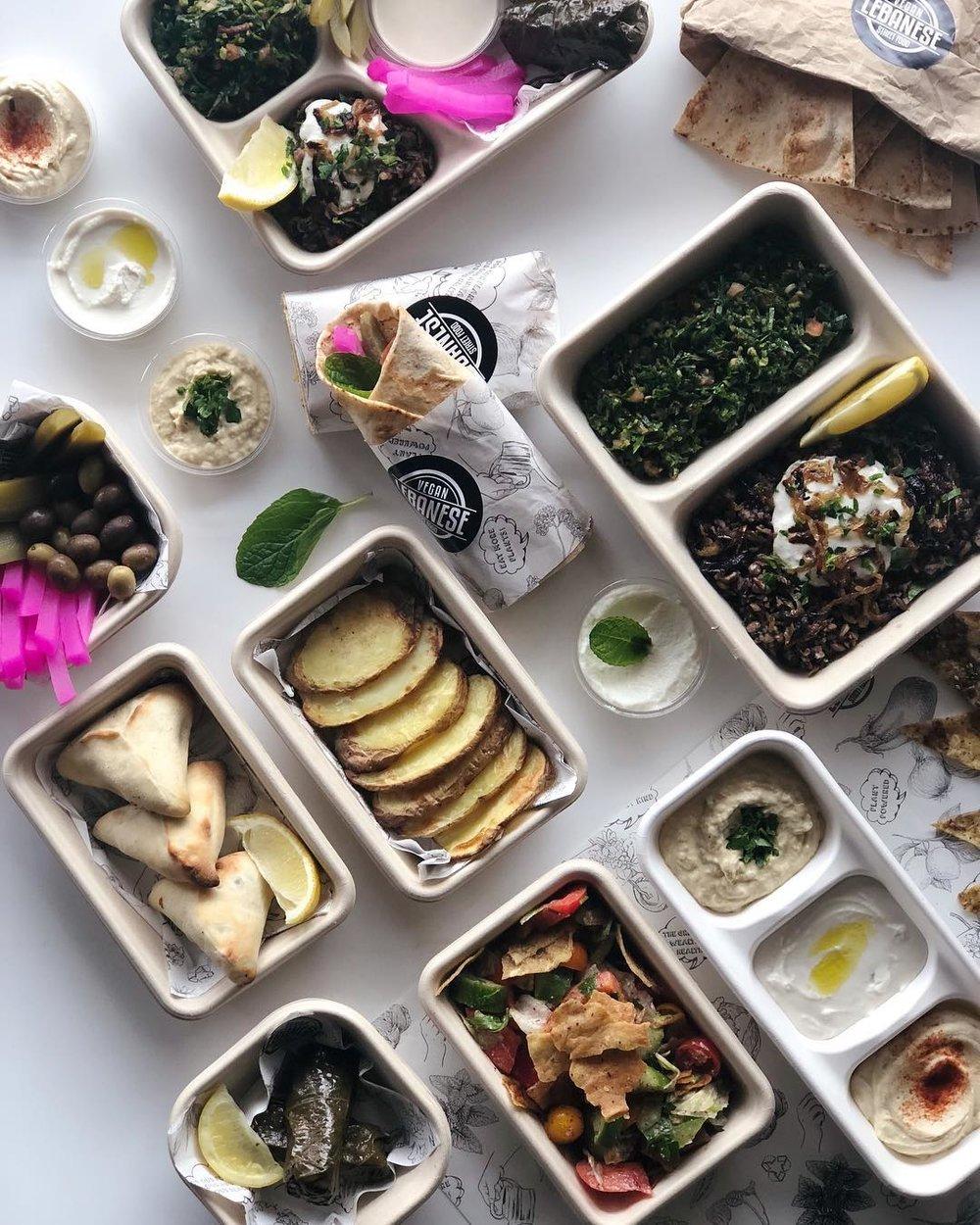 vegan lebanese street food - $ - $$〰 image by @veganlebanesestreetfood