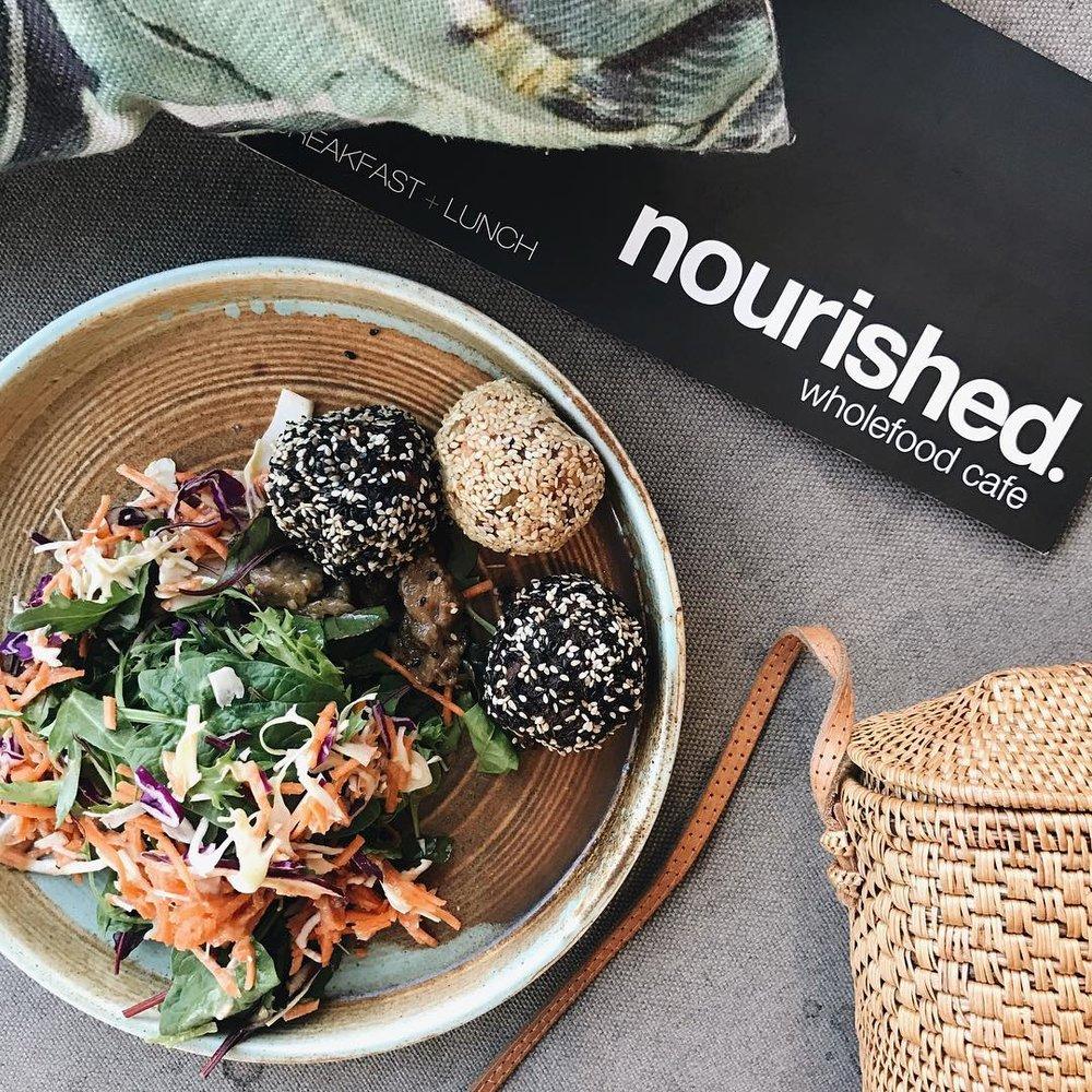 nourished Wholefood cafe - $$〰 image by isabellahighfield