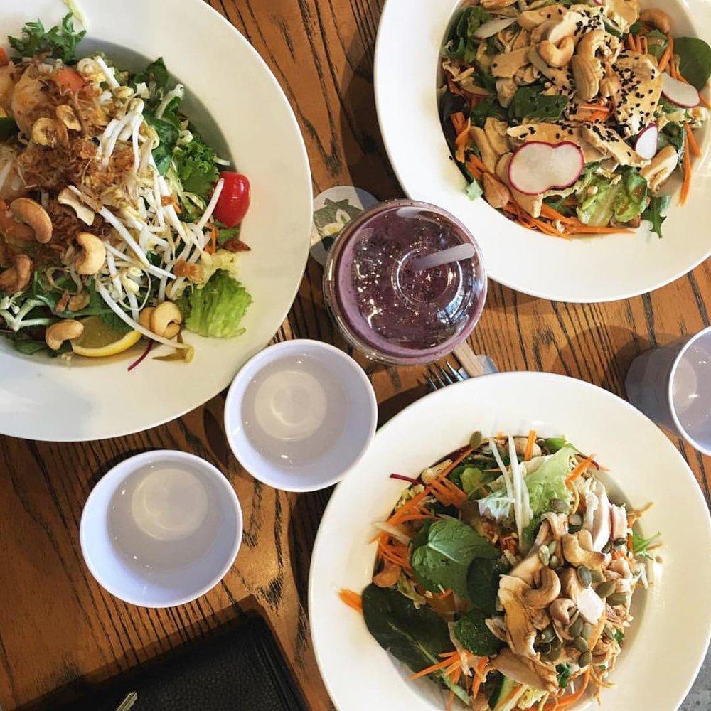 greenhouse asian salads - $〰 image by @kikiryan
