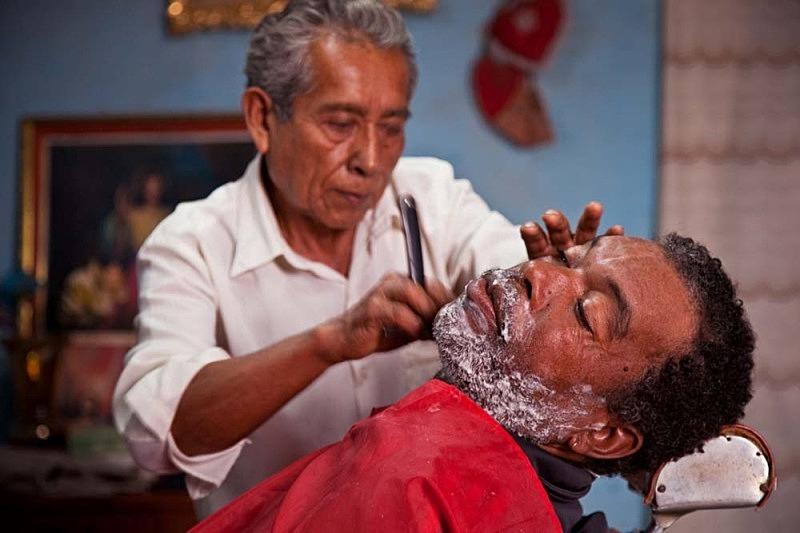 Don Molina el barbero y Félix, El Carmen 2011