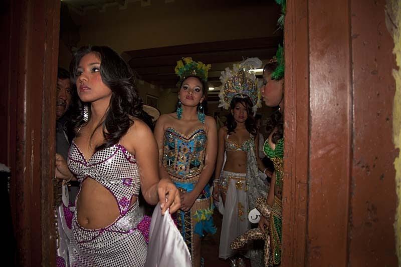 El concurso de belleza, El Carmen 2011