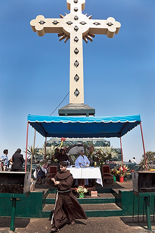 Mass for the Way of the Cross, Cerro San Cristóbal, Lima 2009