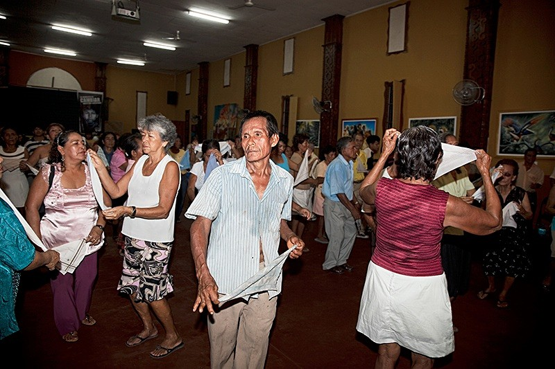 Dancing for Saint John the Baptist, San Juan 2009