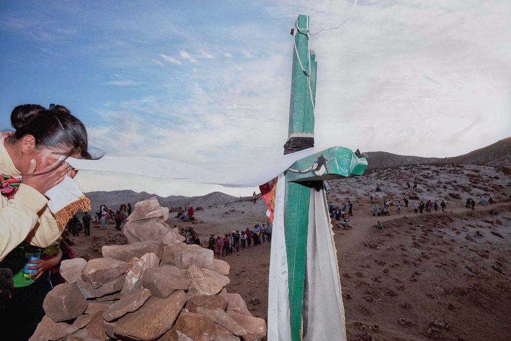 Pilgrim in the Desert, Arequipa 2009