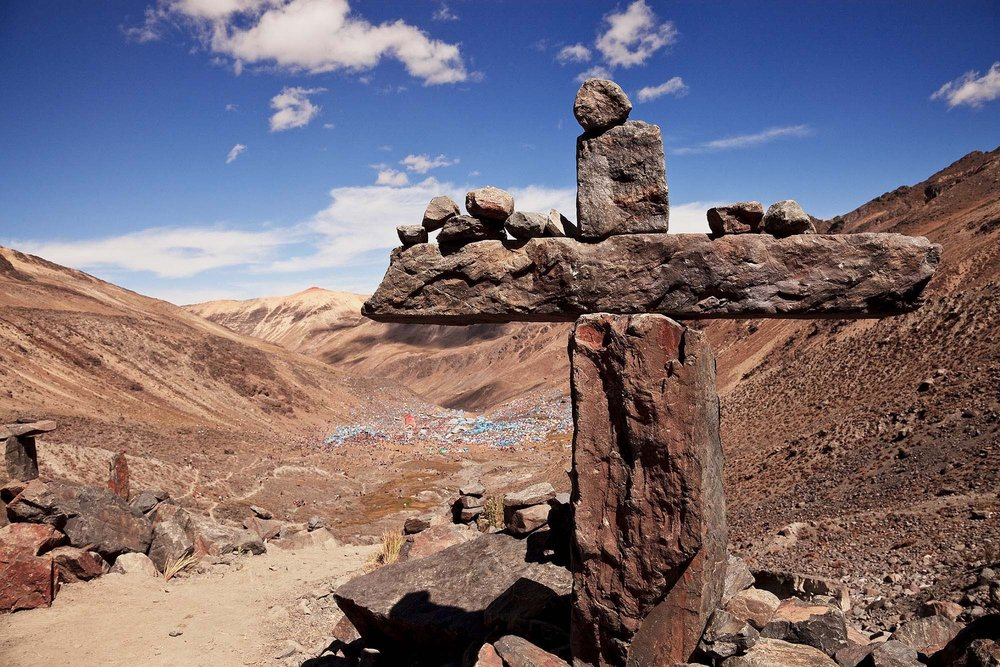 The Cross at the Lord of Qoyllorritty, Quispicanchi, Cusco 2009