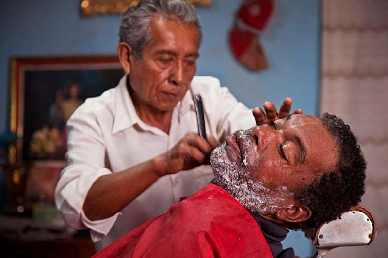 Don Molina the Barber and Felix, El Carmen 2011