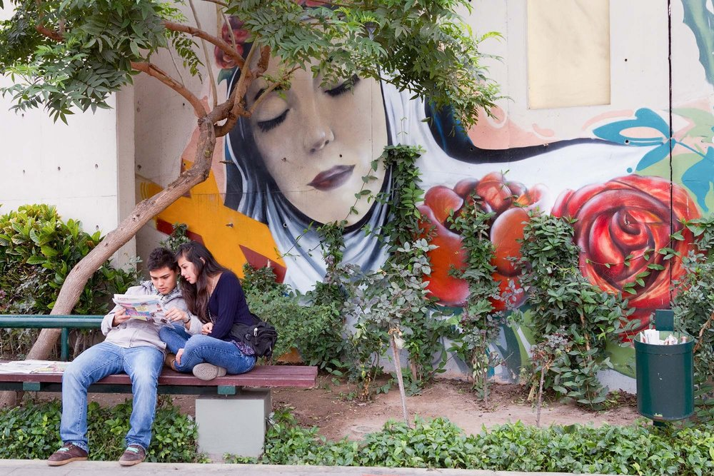 Saint Rose of Lima Park, Lima 2012
