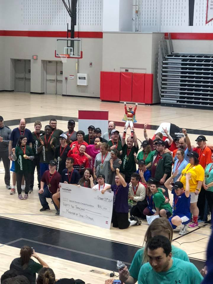 Oct 27, 2018  Motionball for Special Olympics  We beat our Team's fundraising goal of $2000 and overall helped motionball Ottawa to set a new record of raising $82,000.