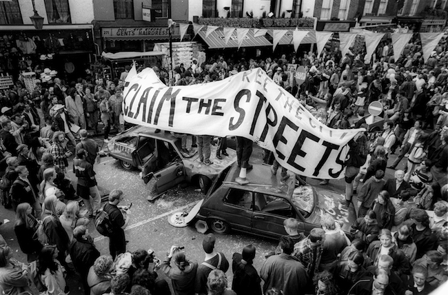 EXIST TO RESIST  Showcasing sound systems and protest culture over the past 25 years, Artist Activist Mattew Smith photos are an invaluable insight into the alternative society that the mainstream media and public either ignore, or choose to denigrate .
