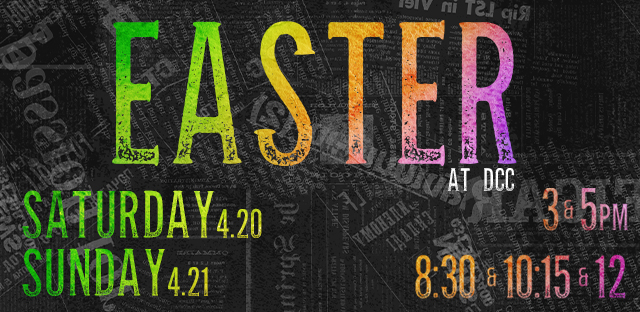 Easter Service Times at Discovery Church Colorado