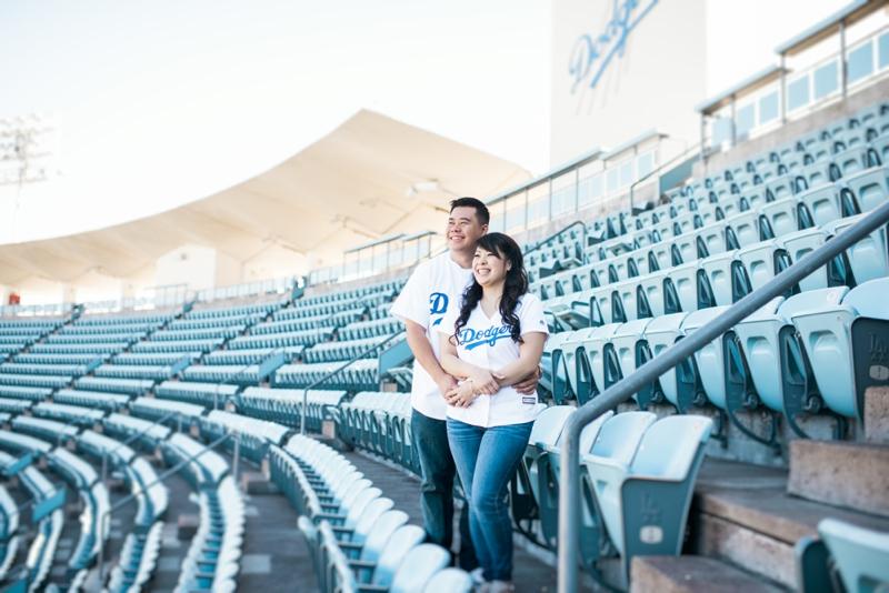 Dodgers-Stadium-Engagement-Photographer-Carissa-Woo-Photography_0017