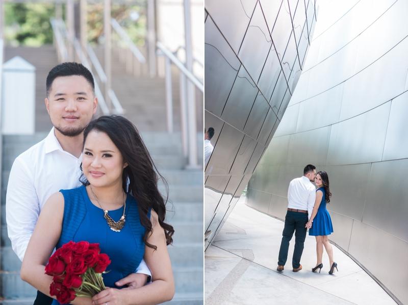 Disney-Concert-Hall-Engagement-Kat+Stephen-Carissa-Woo-Photography_0004