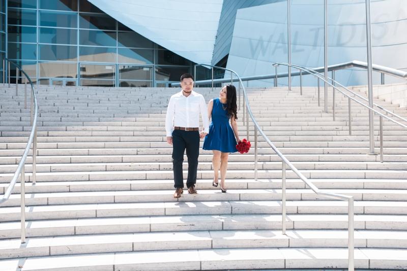 Disney-Concert-Hall-Engagement-Kat+Stephen-Carissa-Woo-Photography_0005