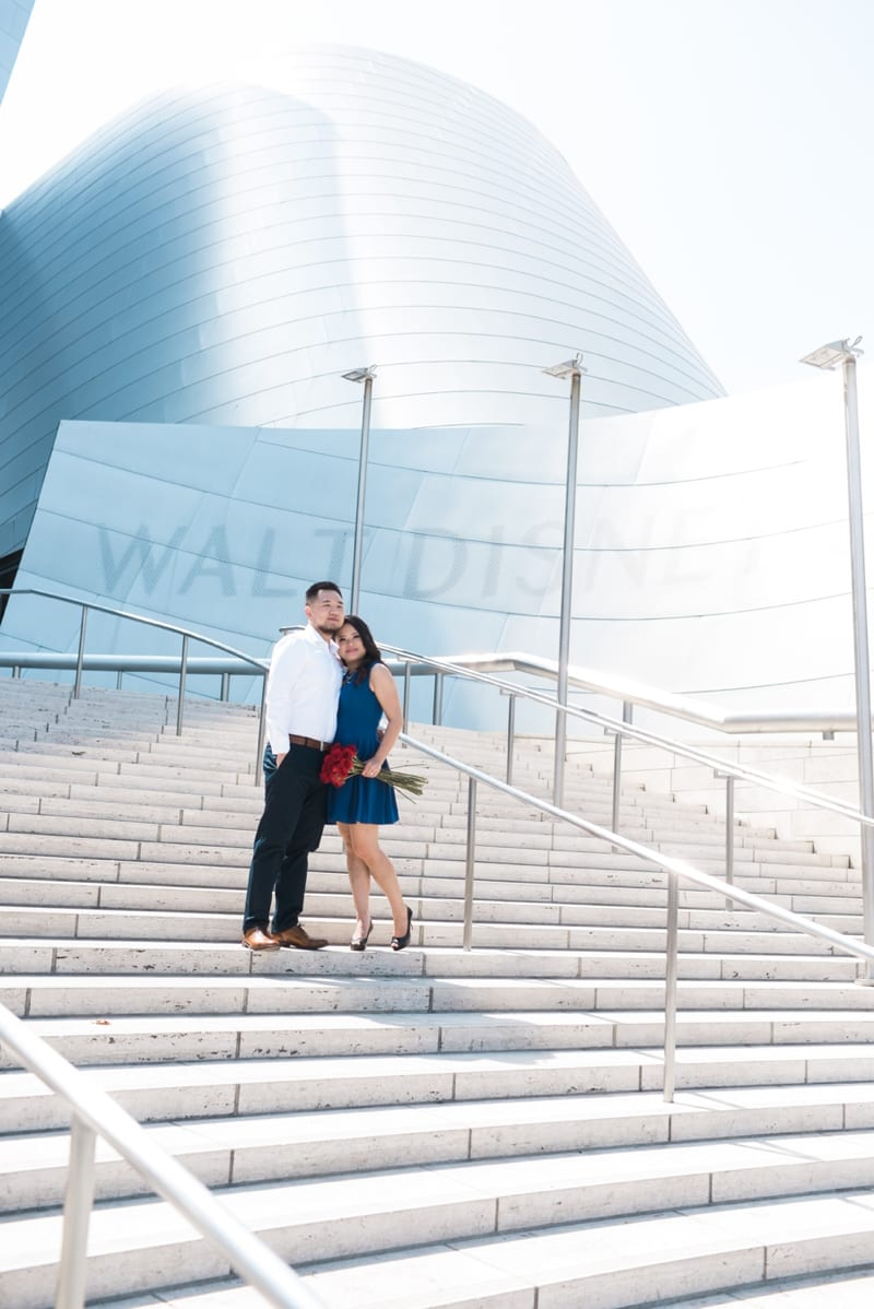 Disney-Concert-Hall-Engagement-Kat+Stephen-Carissa-Woo-Photography_0006