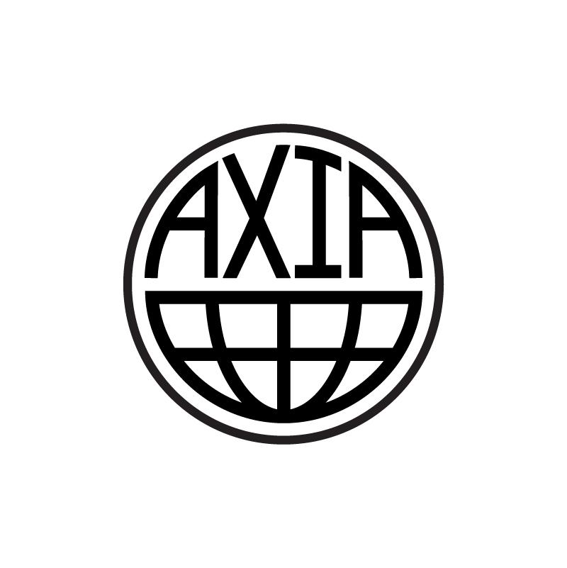 AXIA logo concept (uppercase)