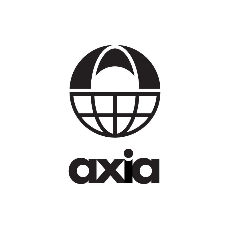 AXIA logo concept (lowercase)