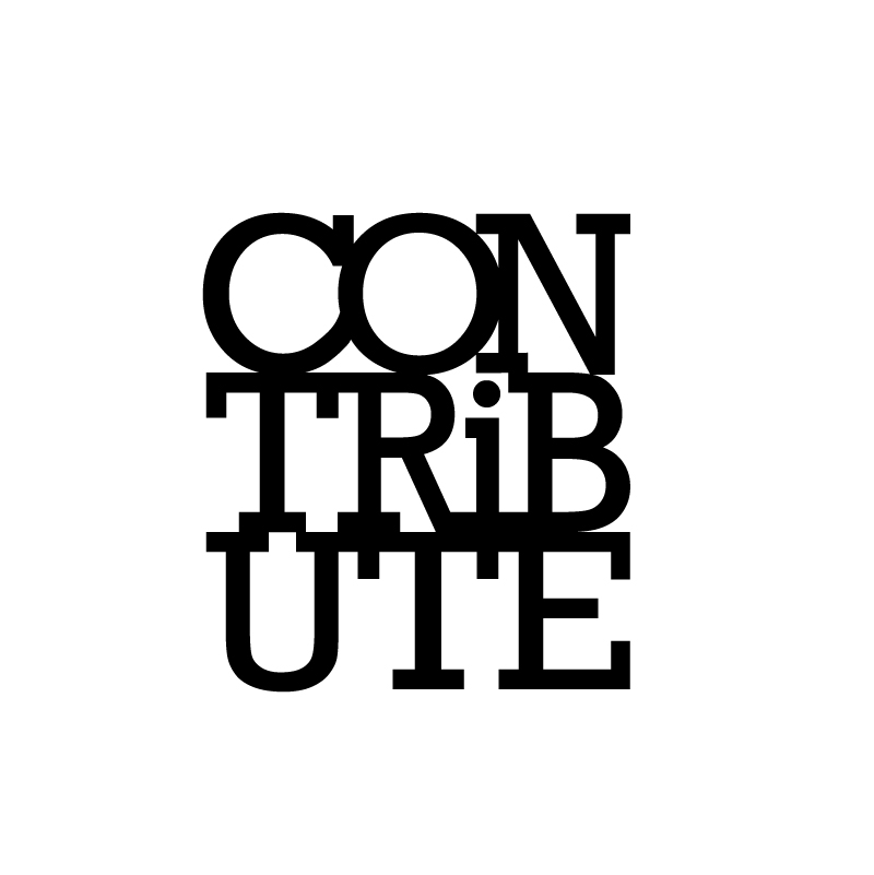 CONTRiBUTE logo concept