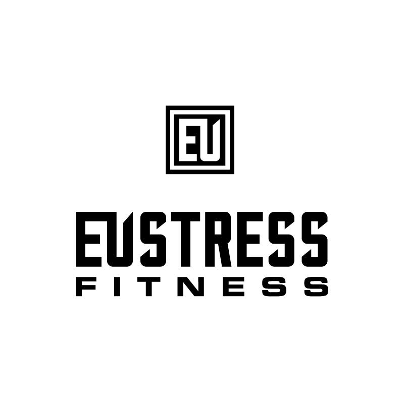 EUstress Fitness logo concept