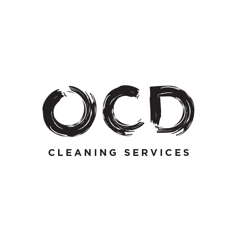 OCD Cleaning Services logo concept