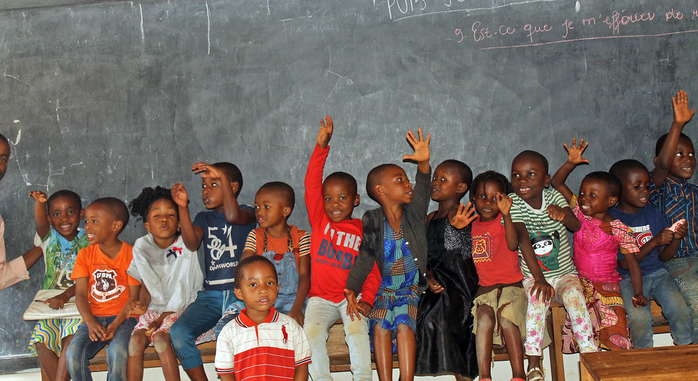 Future Hope Africa supports the education of children in the Democratic Republic of the Congo