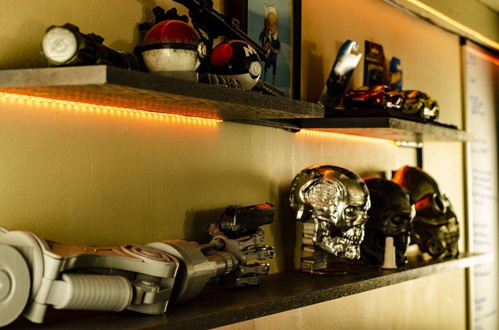 The project shelf