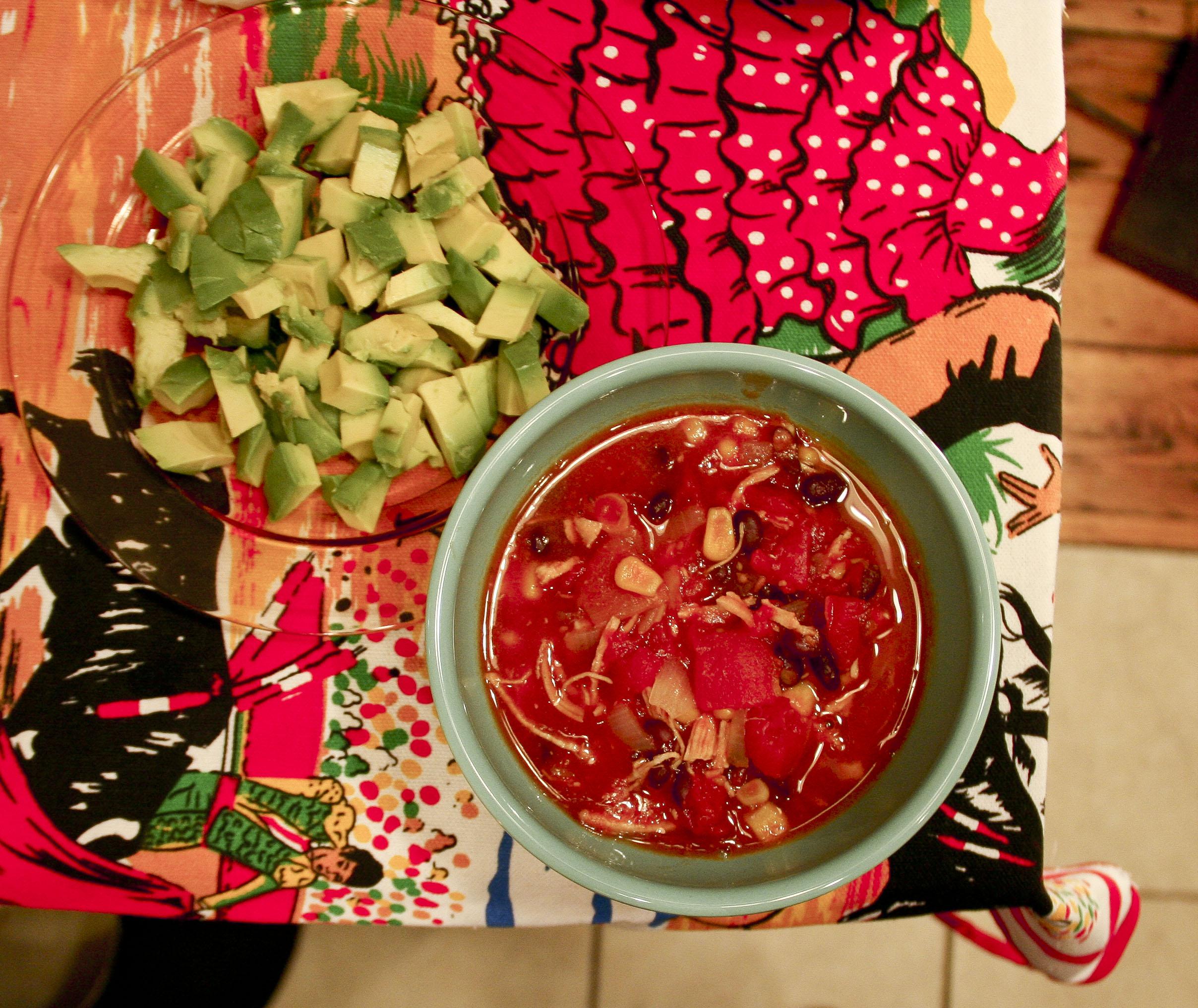 Chicken Tortilla Soup — The Pantry Raid