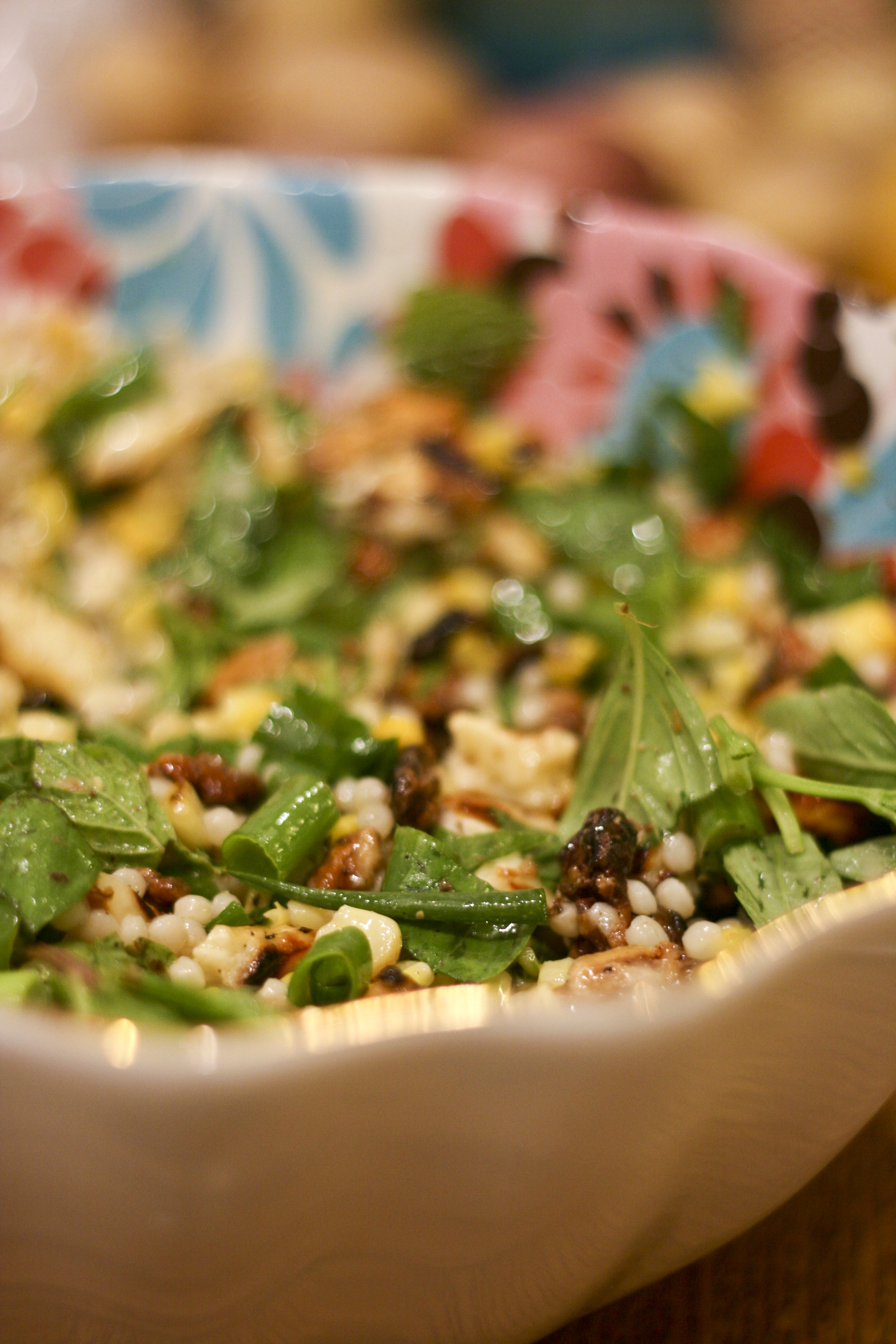 israeli couscous herb salad