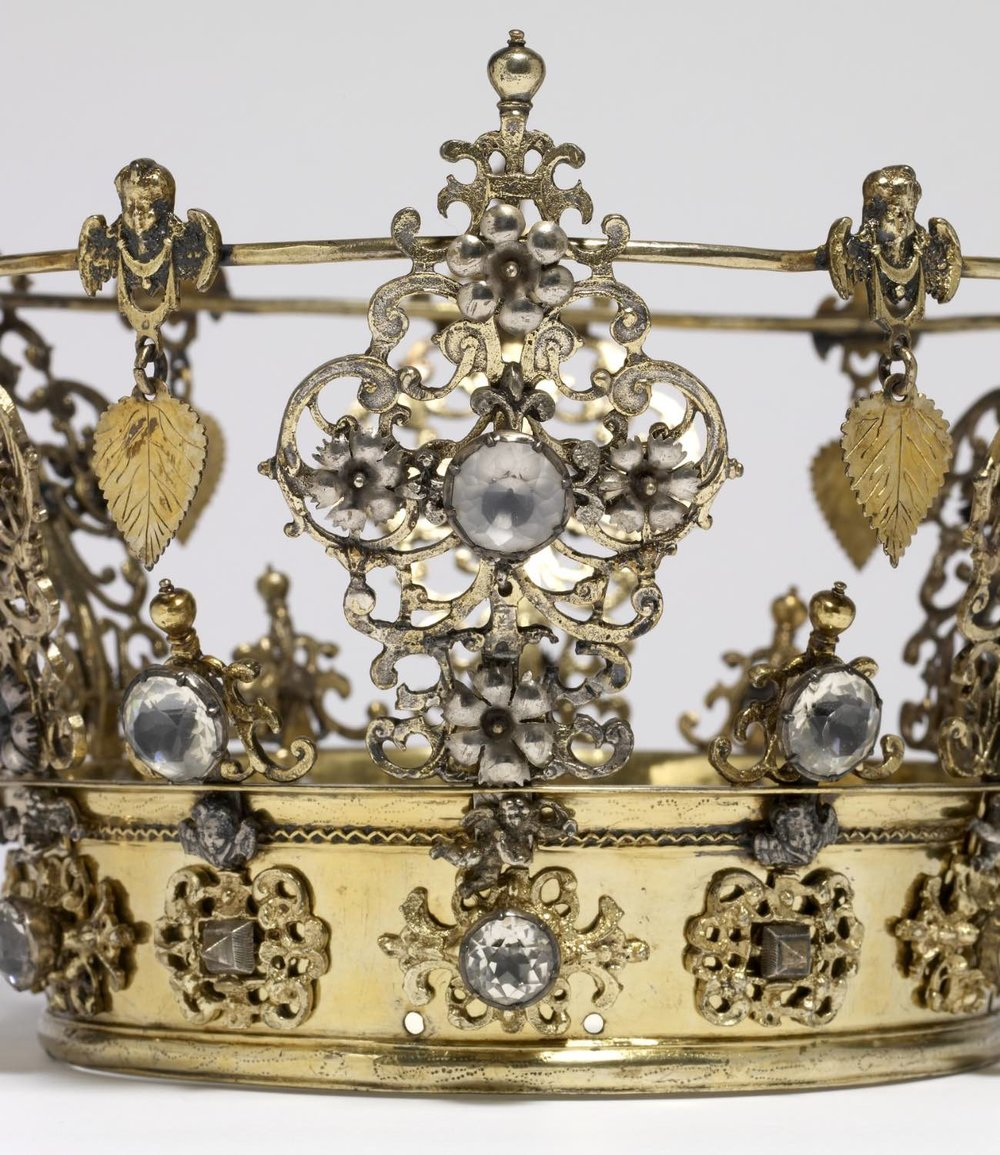 Swedish Wedding Crown - Walters Art Gallery