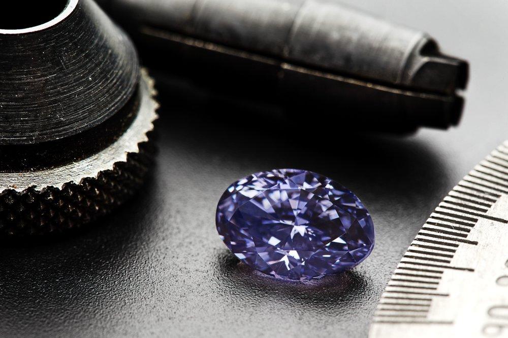 The 'Impossibly Rare' Diamond – 2.83 carat Violet Diamond