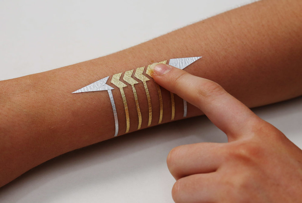 DuoSkin tattoos are designed to last a few days at the most.