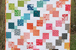 Kaleidoscopic Kites Quilt
