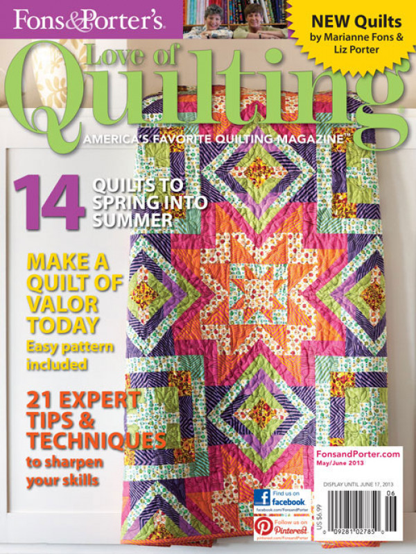 Love of Quilting / May/June 2013