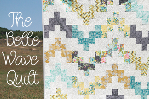 Belle Wave Quilt Pattern by Fresh Lemons Quilts : Faith