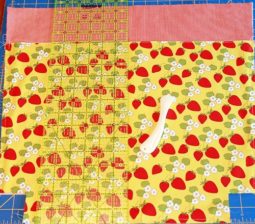 Farmer's Market Tote: Pattern by Faith Jones of Fresh Lemons Quilts