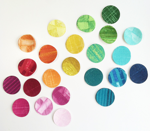 Circle Stacks by Fresh Lemons Quilts