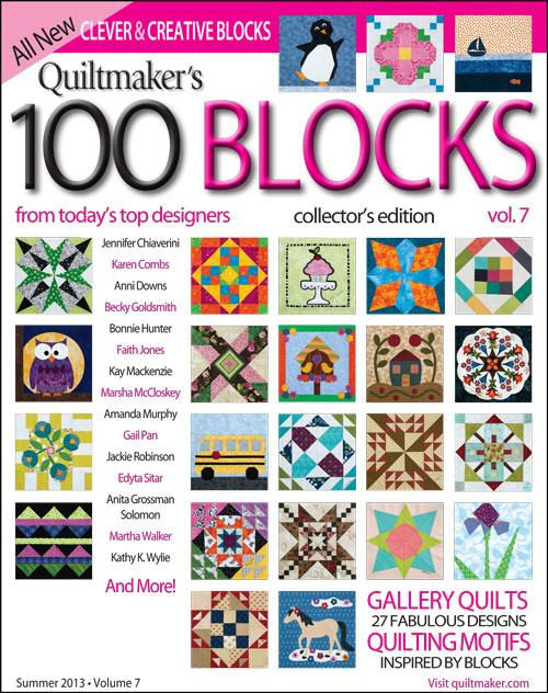 Quiltmaker 100 Blocks, vol 7