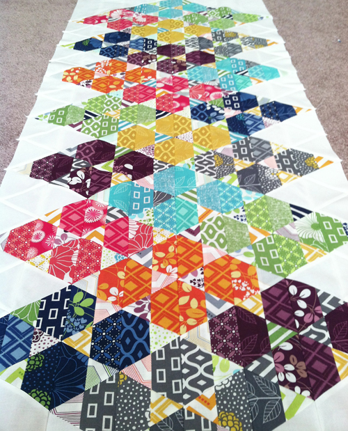 Simply Triangles by Fresh Lemons Quilts : Faith