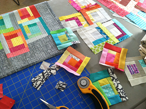 Improvisational Workshop by Fresh Lemons Quilts : Faith