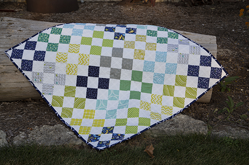 Patchwork on Point by Fresh Lemons Quilts : Faith