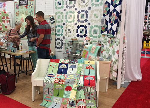 Camille Roskelley at Quilt Market : Fresh Lemons Quilts